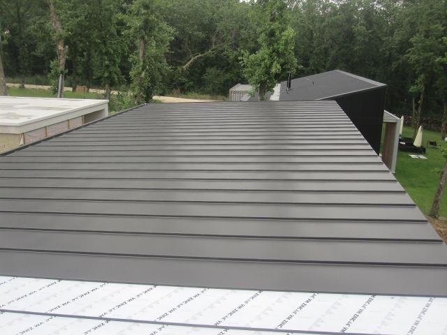 couverture en zinc joint debout maison design mail