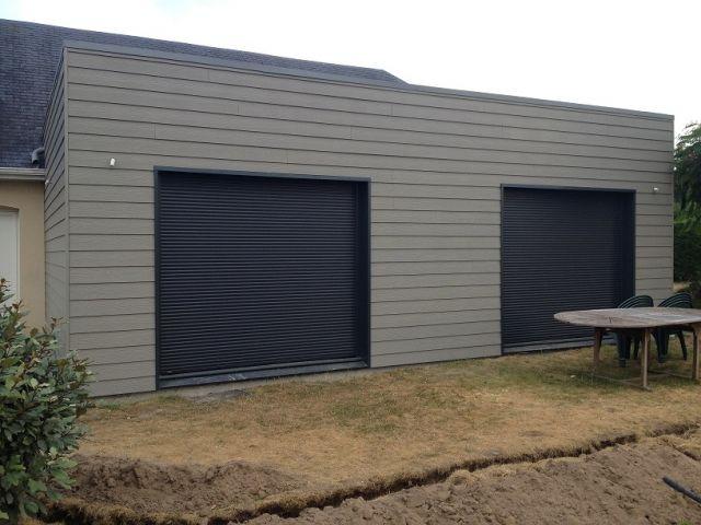 Extension ossature bois hardouin lain for Extension garage ossature bois
