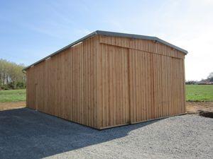 Garage Bardage Douglas Hardouin Lainé