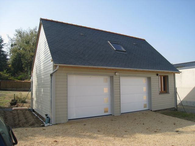 Construction garage en bois - Truc construction garage ...